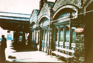 Cleckheaton Central station about 1960