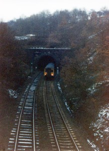 Low Moor tunnel late 1980's