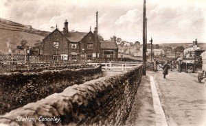 Cononley station about 1910 - RS