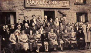 Whitakers Cock and Bottle, Southharem 1950.