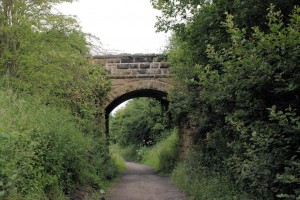 Bridge near Fyling Hall station.