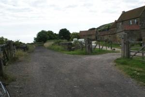 Farm crossing between Robin Hoods Bay and Ravenscar.