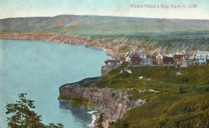 Robin Hoods Bay from north cliff 1920