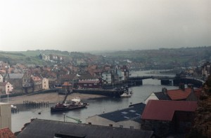 Whitby harbour 1970